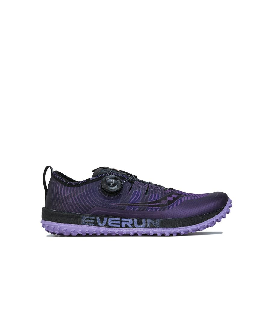 Image for Women's Saucony Switchback ISO Running Shoes in Purple black