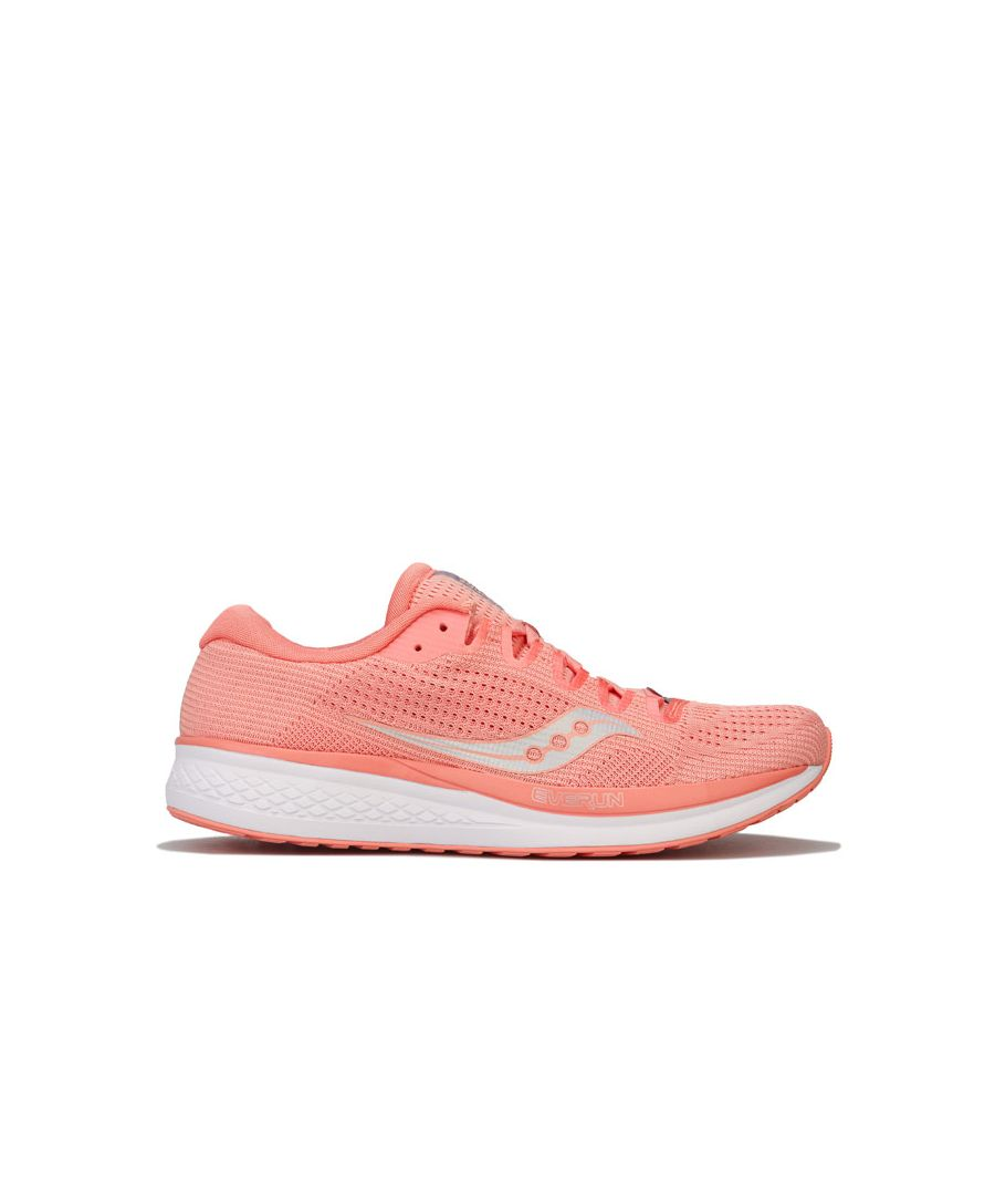 Image for Women's Saucony Jazz 21 Running Shoes in Peach