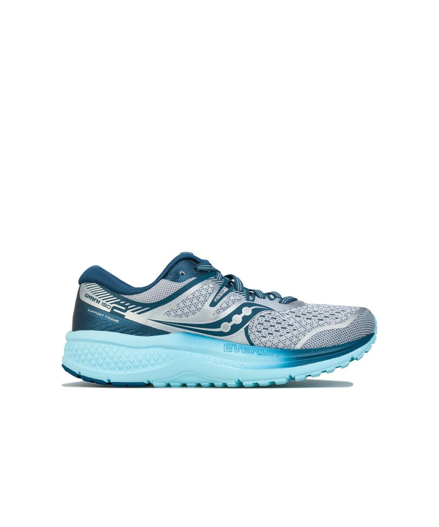 Image for Women's Saucony Omni ISO 2 Running Shoes in Grey