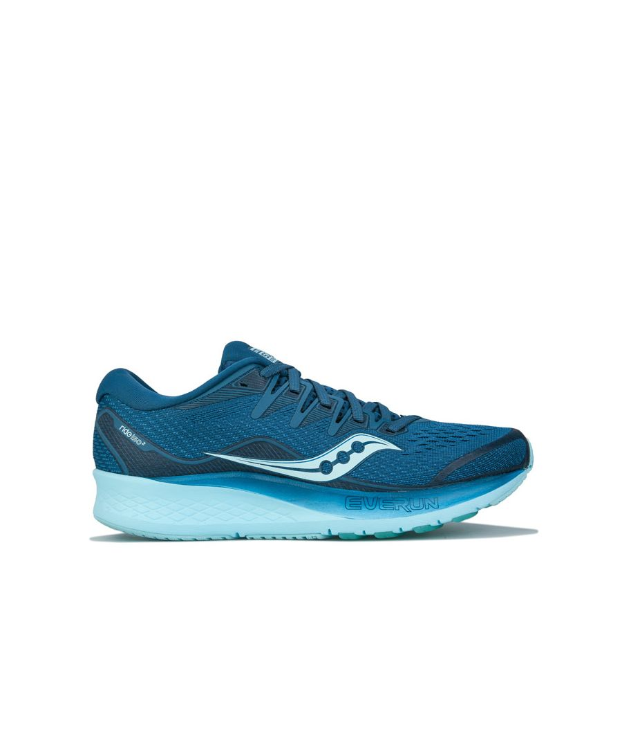 Image for Women's Saucony Ride ISO 2 Running Shoes in Blue