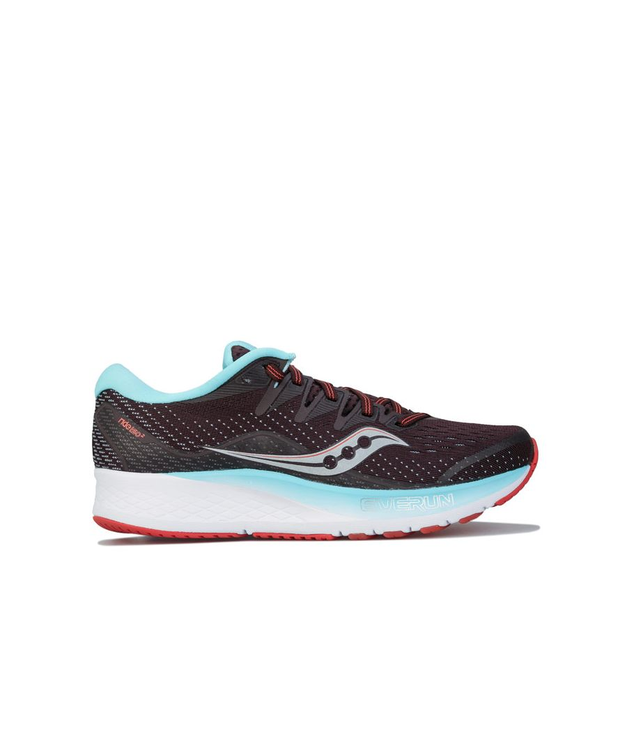 Image for Women's Saucony Ride ISO 2 Running Shoes in Brown