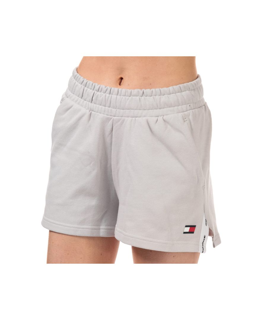 Image for Tommy Hilfiger Women's Bio Cool Tape Detail Shorts in Off White