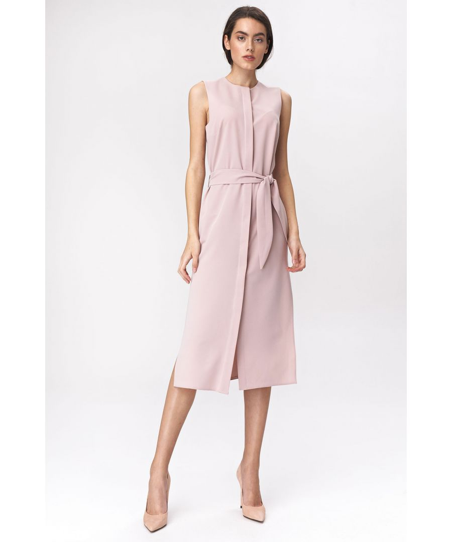 Image for Pinky dress in shirt style