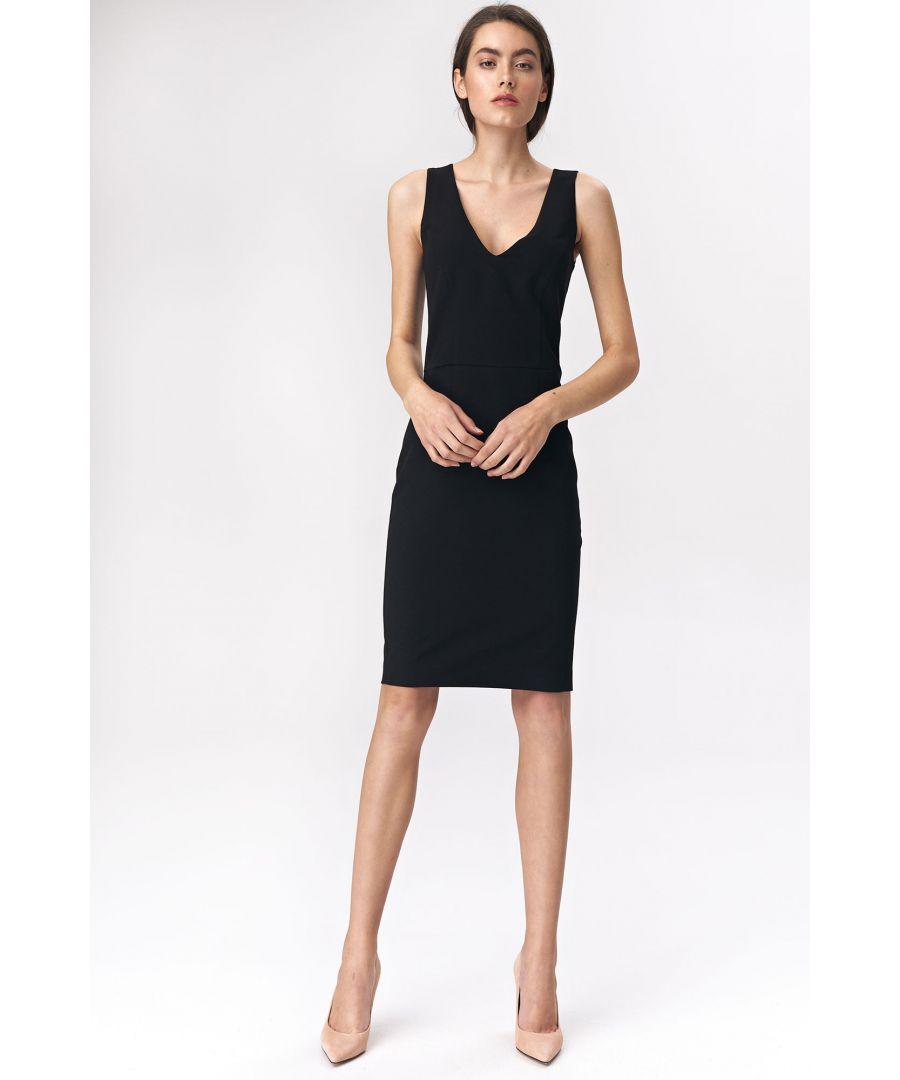 Image for Black mini dress