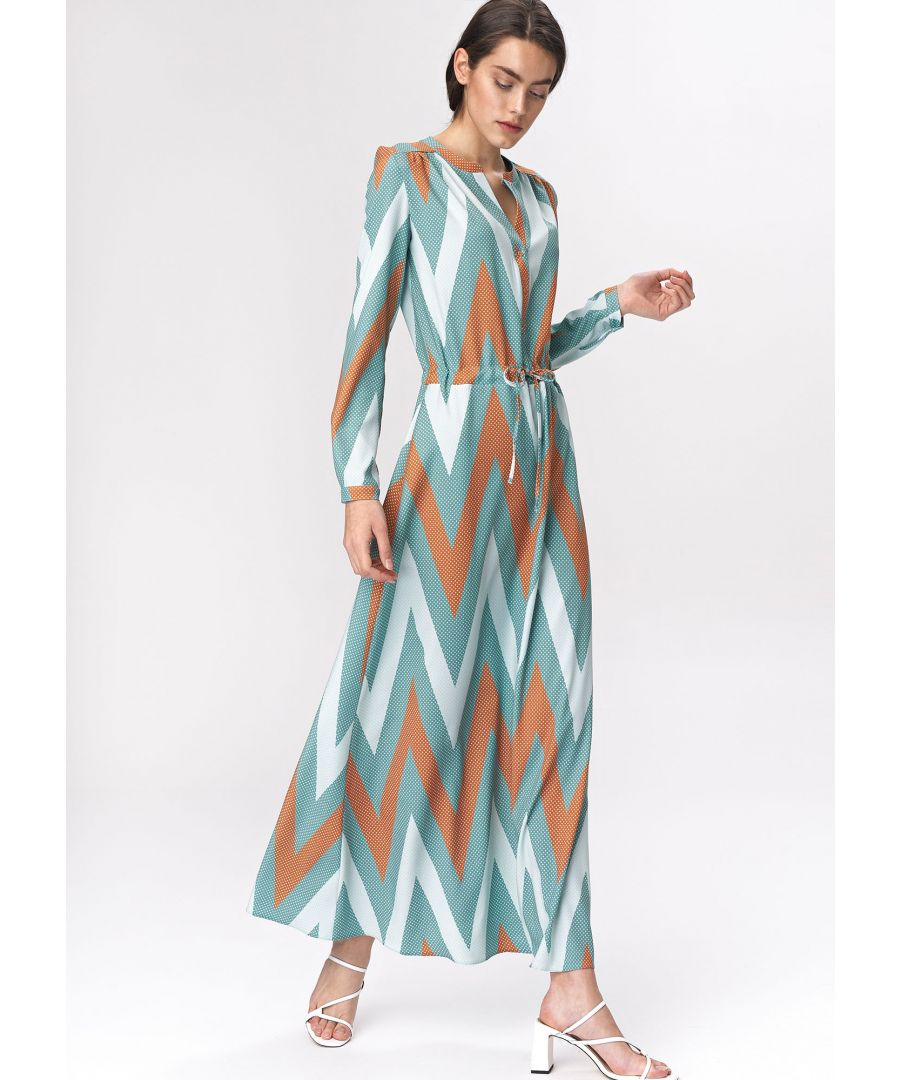 Image for Turquoise maxi dress
