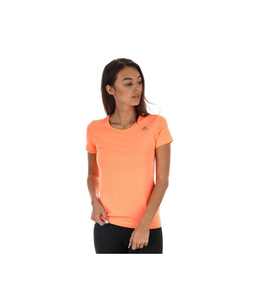 Image for Women's adidas Infinite Series Prime T-Shirt in Orange