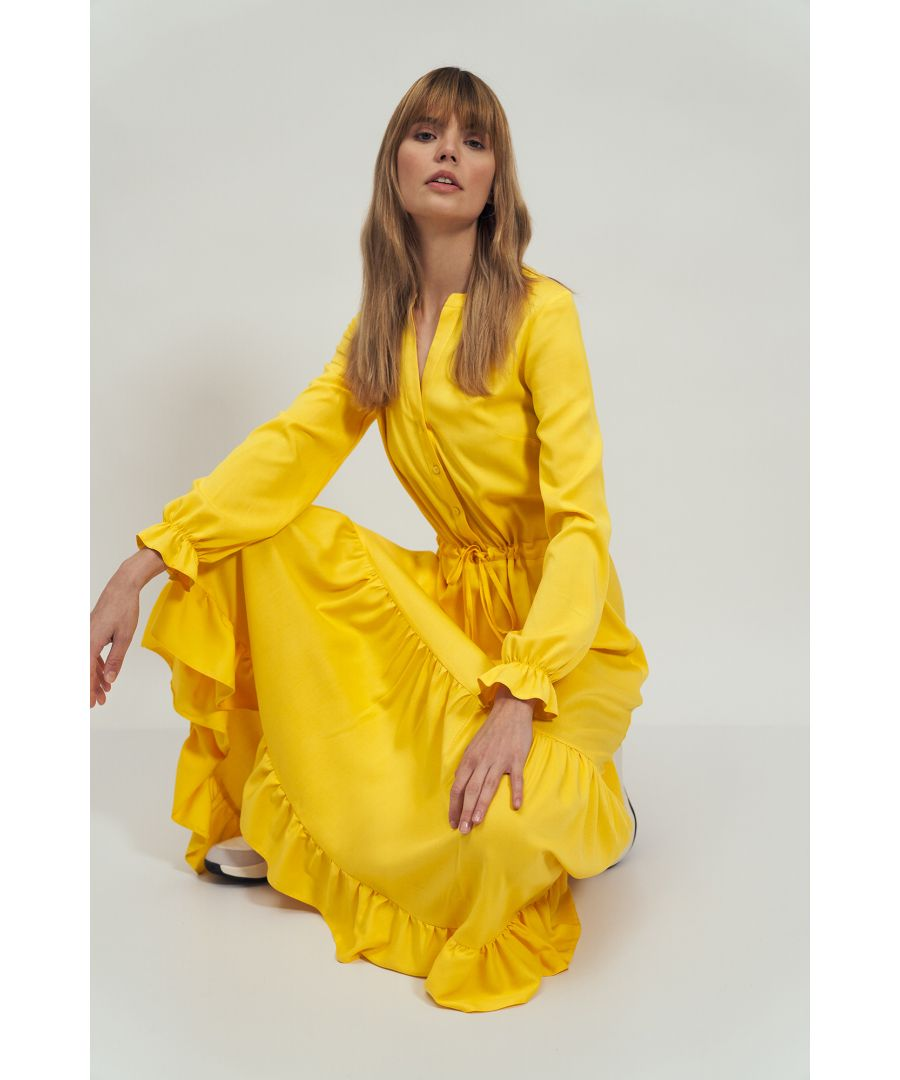 Image for Maxi Dress With Flounces