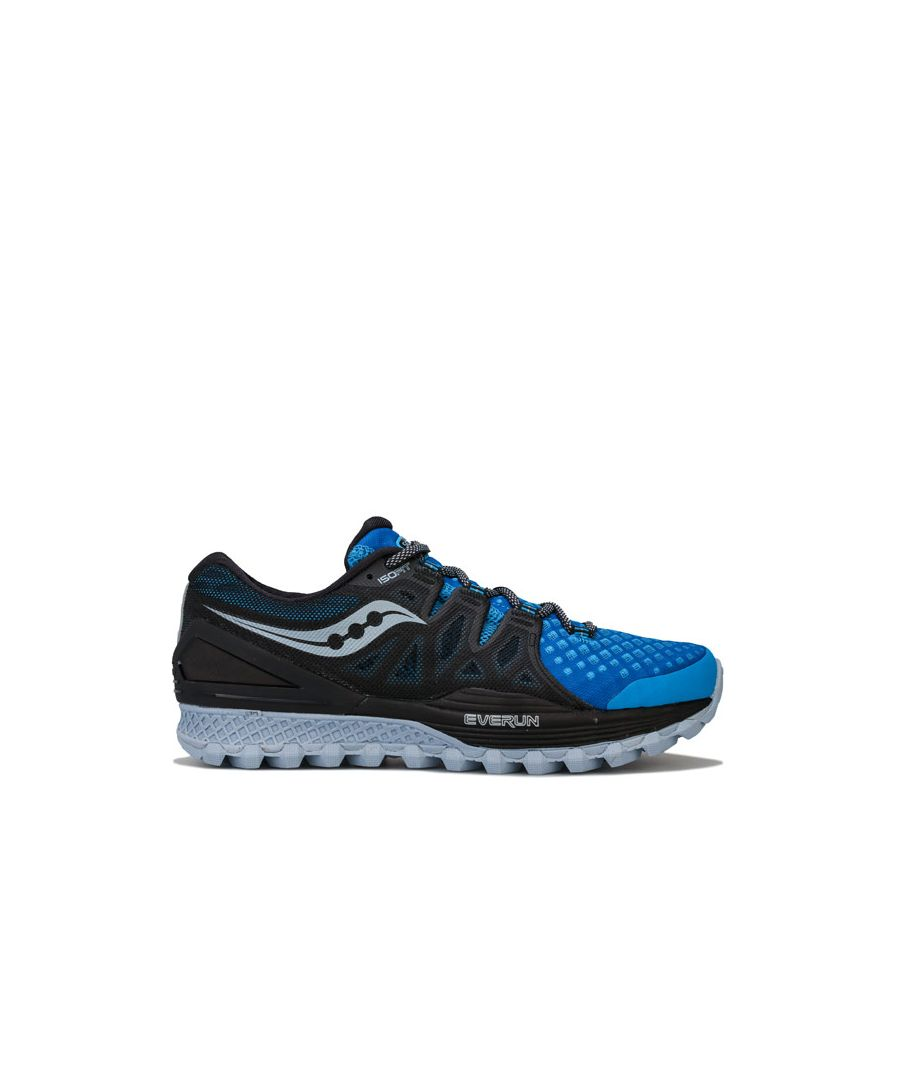 Image for Men's Saucony Xodus ISO Trainers in black blue