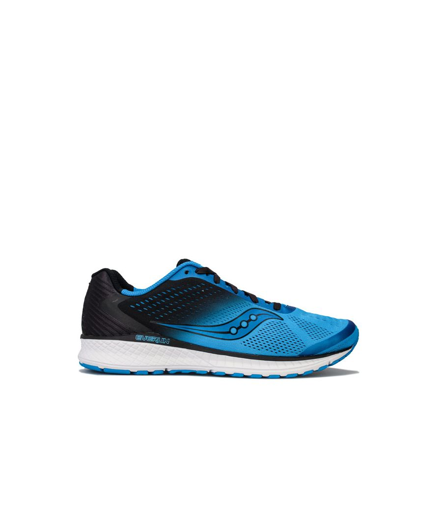 Image for Men's Saucony Breakthru Trainers in black blue