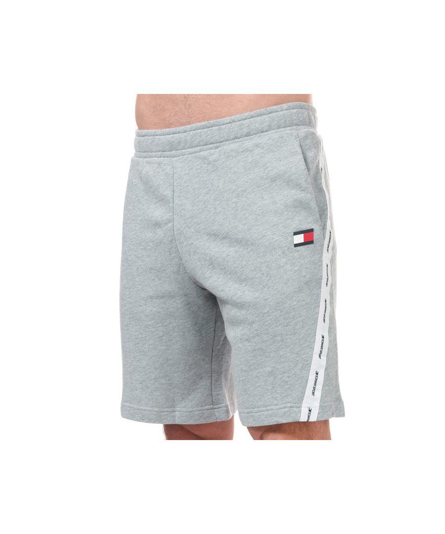 Image for Men's Tommy Hilfiger Fleece Tape Shorts in Grey