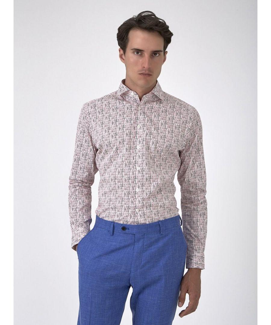 Image for Dash Print Shirt Pink