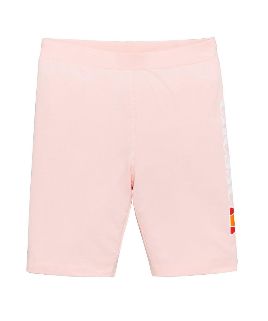 Image for Ellesse Suzina Junior Girls Cycle Short Light Pink - 3-4 Years