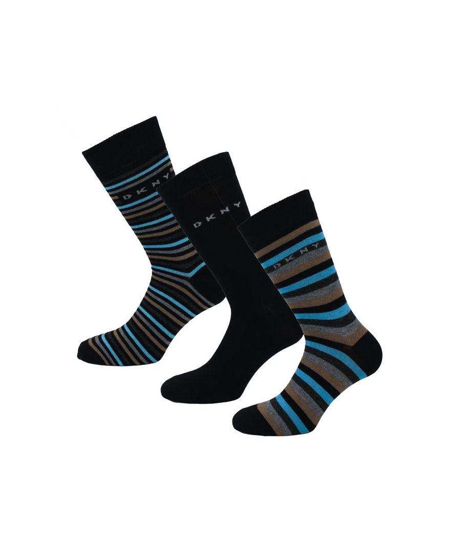 Image for Men's DKNY Judge 3 Pack Socks in Khaki