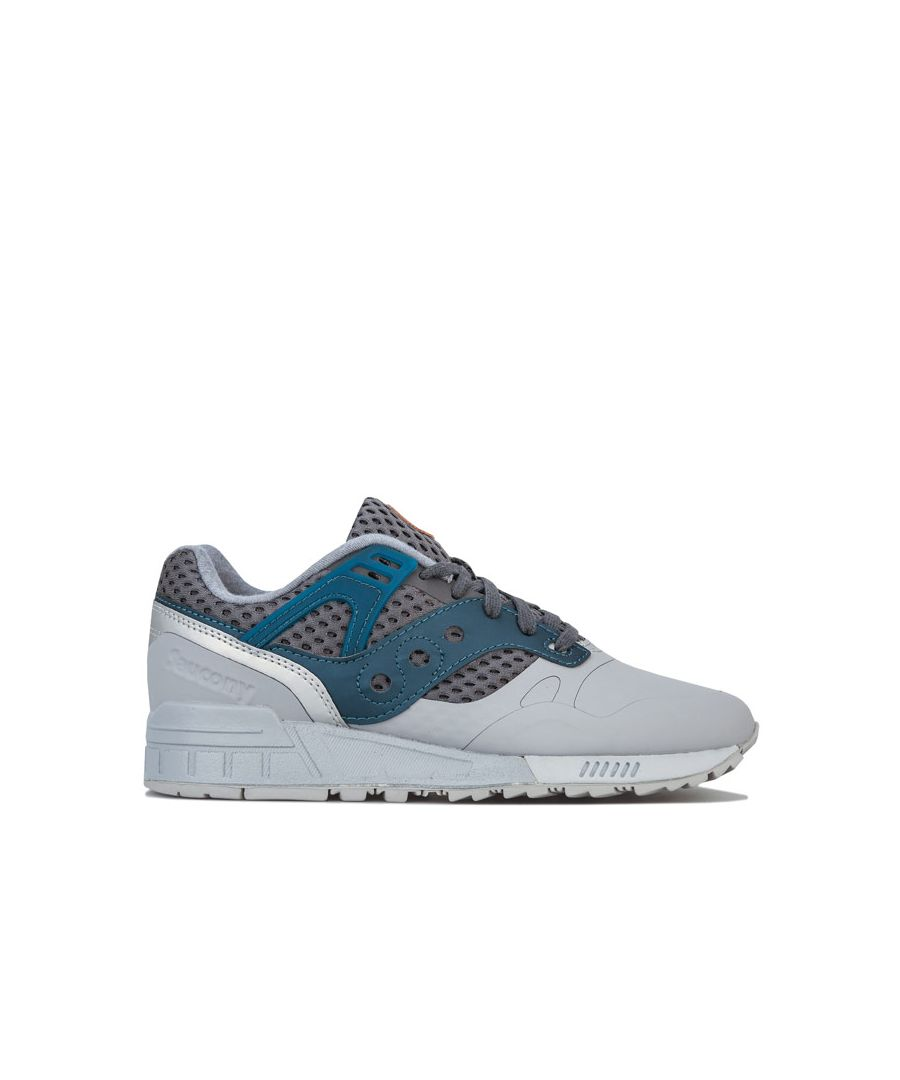 Image for Men's Saucony Grid SD HT Trainers in Grey blue