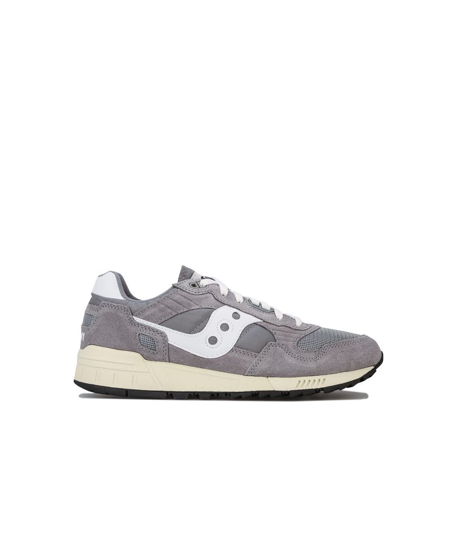 Image for Men's Saucony Shadow 5000 Vintage Trainers in Grey
