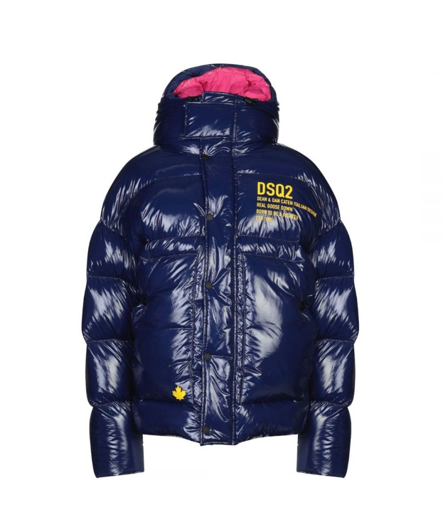 Image for Dsquared2 Goose Down Blue Jacket