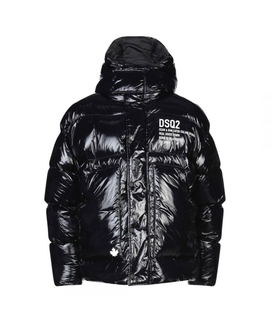 Image for Dsquared2 Goose Down Black Jacket