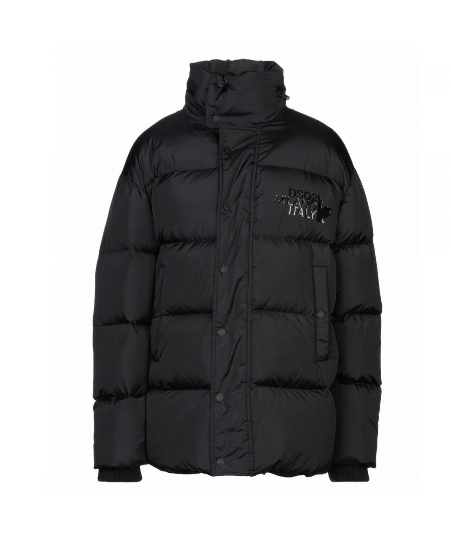 Image for Dsquared2 Milano Goose Down Black Oversize Jacket