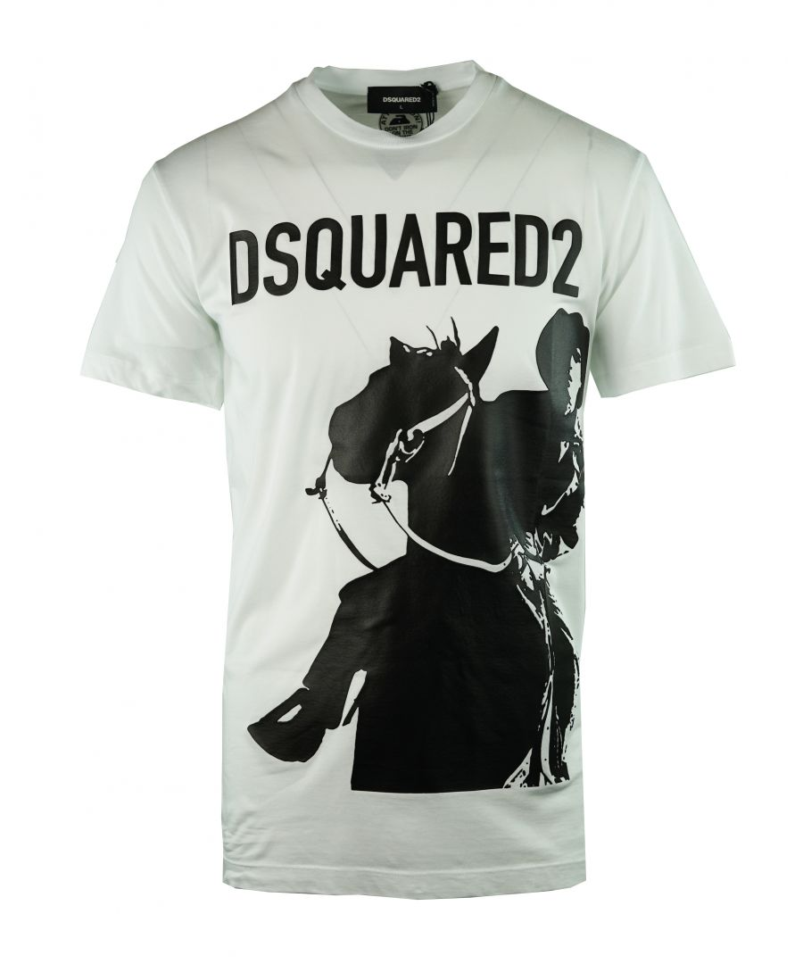 Image for DSquared2 S71GD0686 S21600 100 T-Shirt