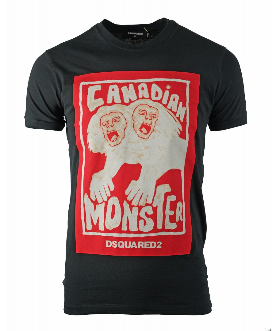 Image for DSquared2 S71GD0751 S22507 900 T-Shirt