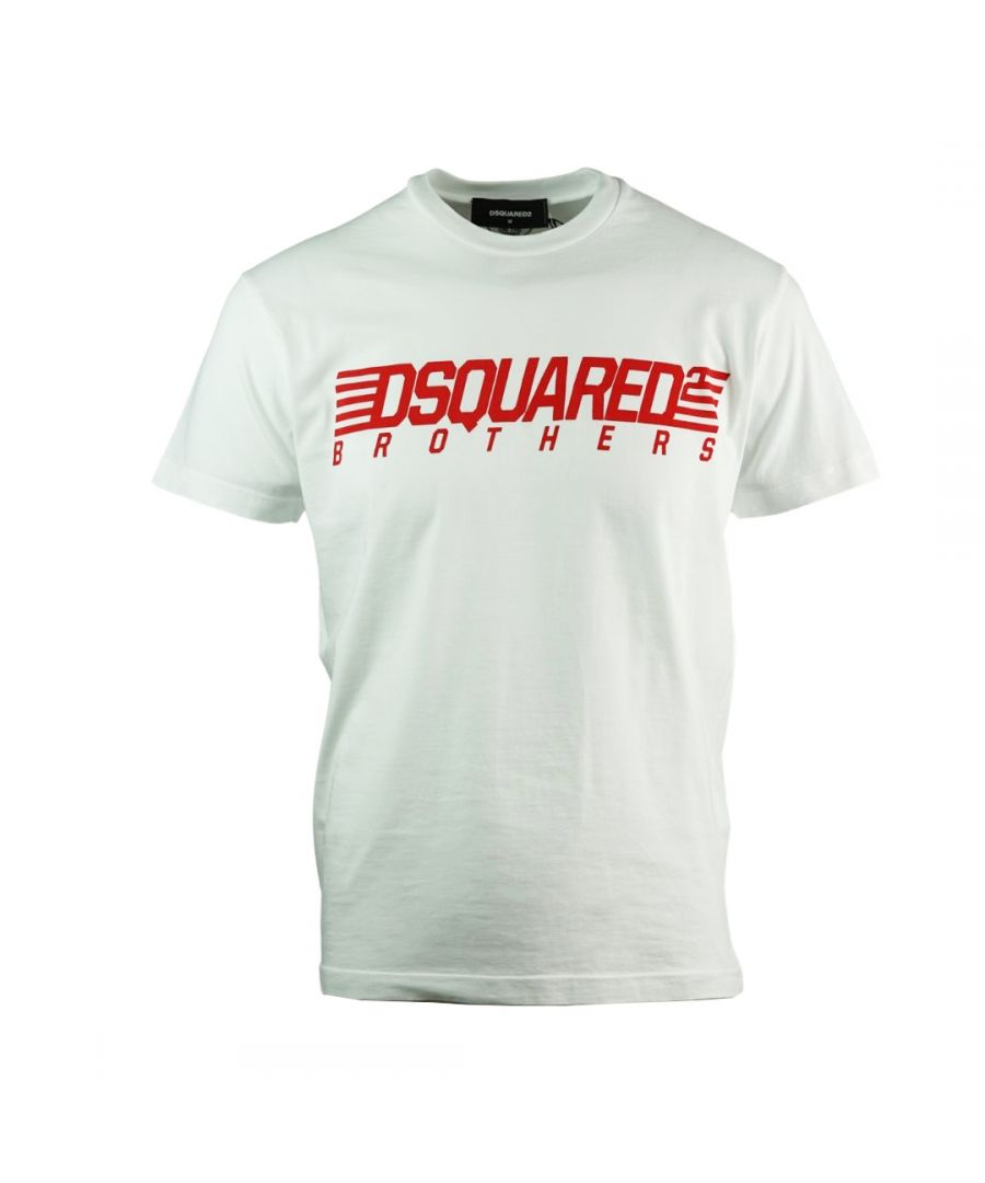 Image for Dsquared2 Brothers Cool Fit White T-Shirt