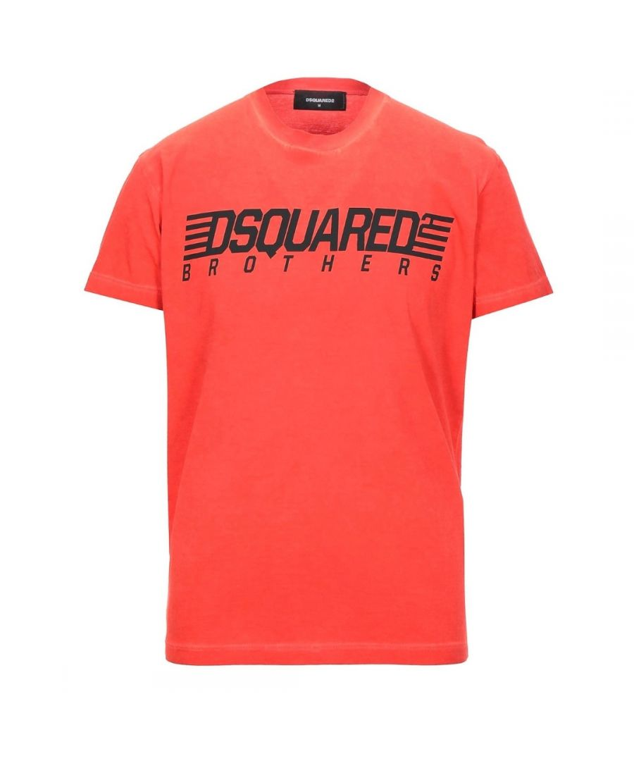 Image for Dsquared2 Brothers Cool Fit Red T-Shirt