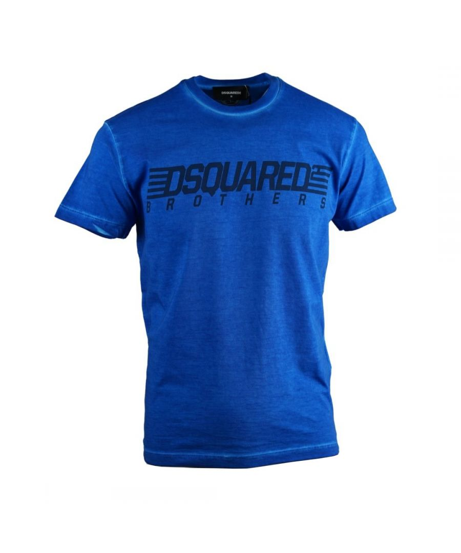 Image for Dsquared2 Brothers Cool Fit Blue T-Shirt