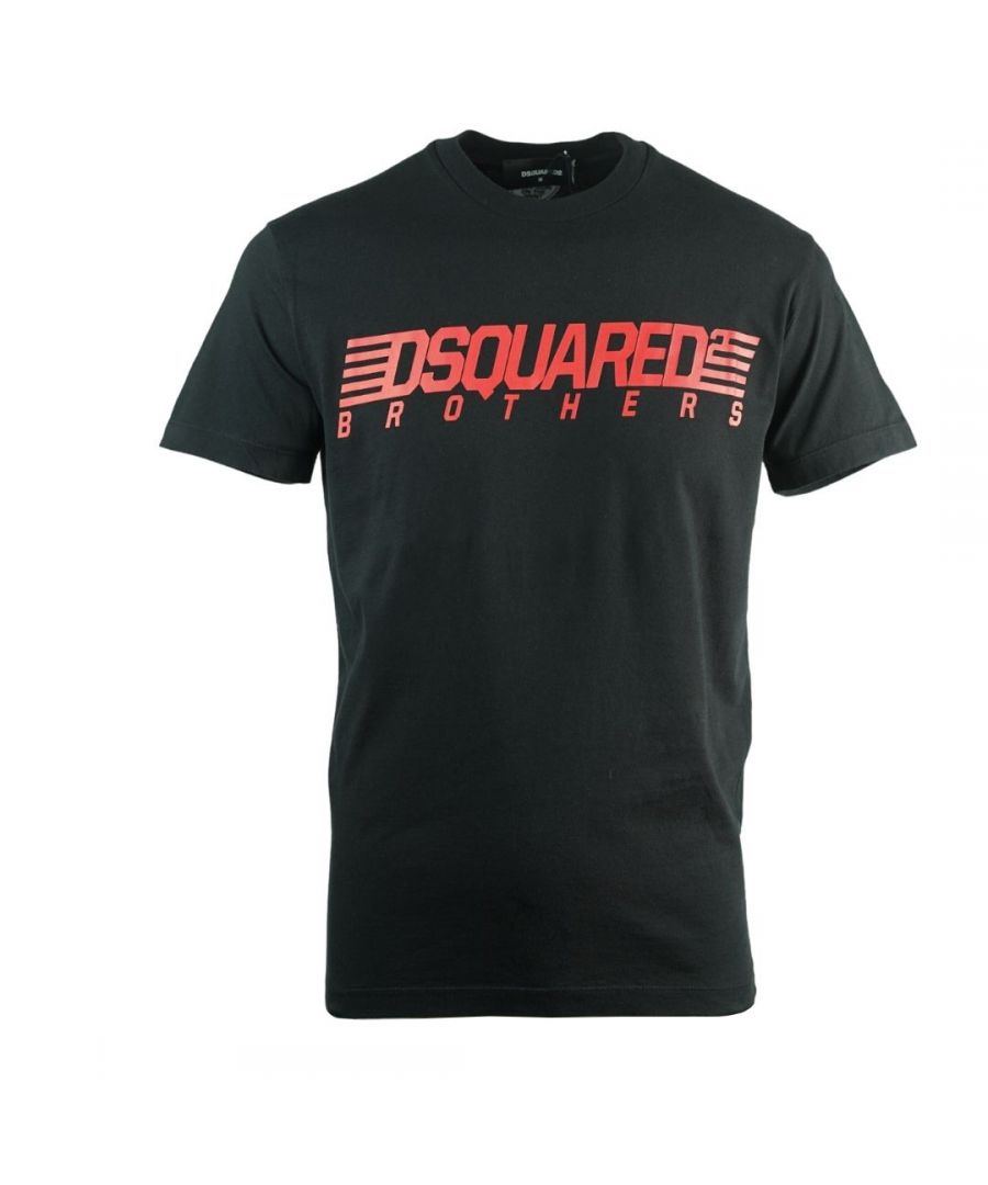 Image for Dsquared2 Brothers Cool Fit Black T-Shirt