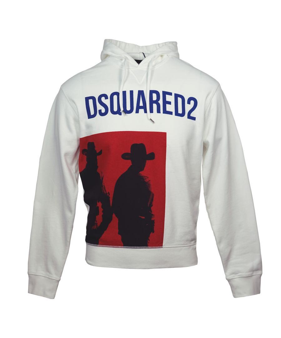 Image for DSquared2 S71GU0253 100 Hoodie