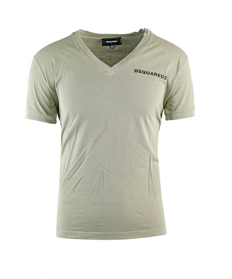 Image for DSquared2 S74GD0203 S20694 800 Mens T-Shirt