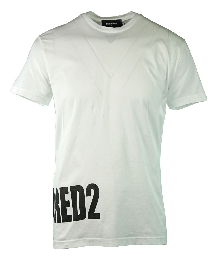 Image for DSquared2 S74GD0463 S22427 100 T-Shirt
