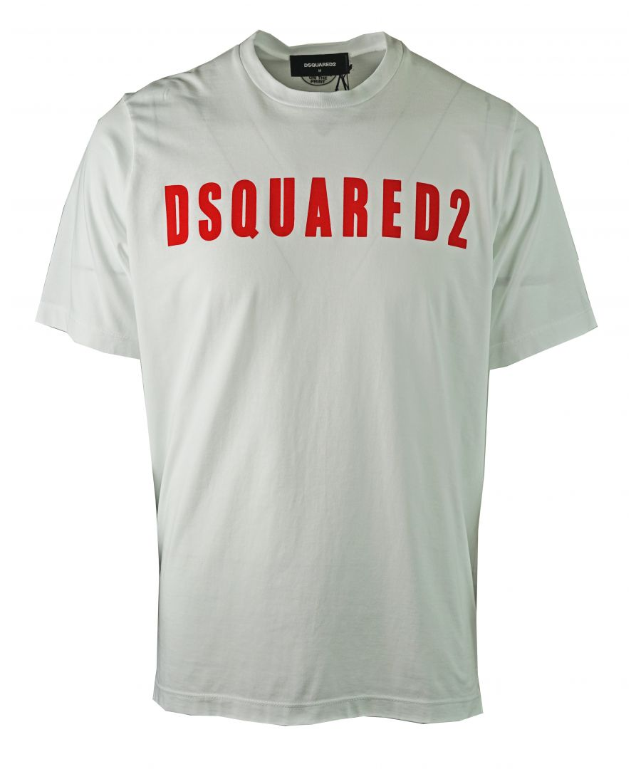 Image for DSquared2 S74GD0472 S20694 100 T-Shirt