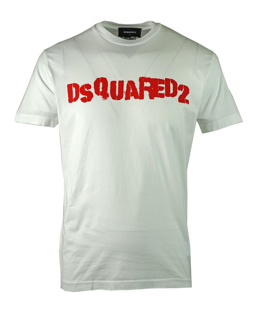 Image for DSquared2 S74GD0494 S22427 100 T-Shirt