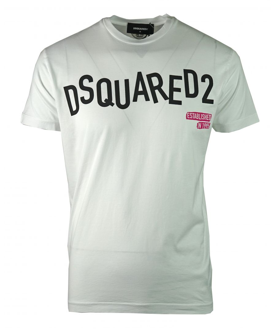 Image for DSquared2 S74GD0501 S22427 100 T-Shirt