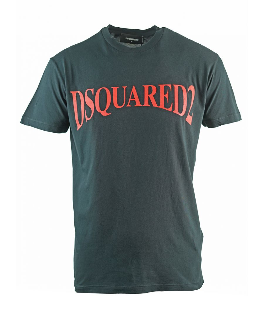 Image for Dsquared2 Panoramic Logo Cool Fit Black T-Shirt