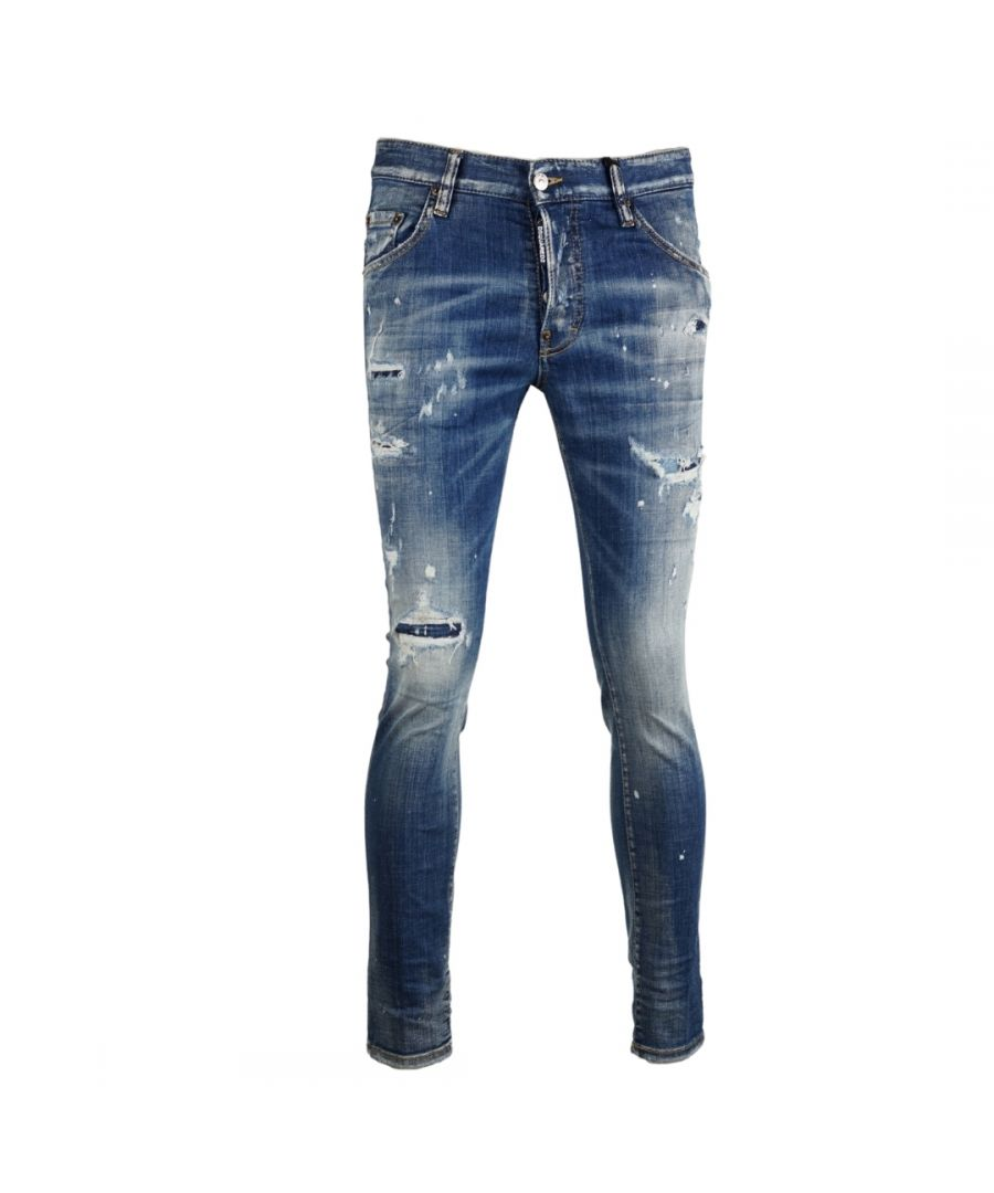 Image for Dsquared2 Skater Jean Distressed Jeans