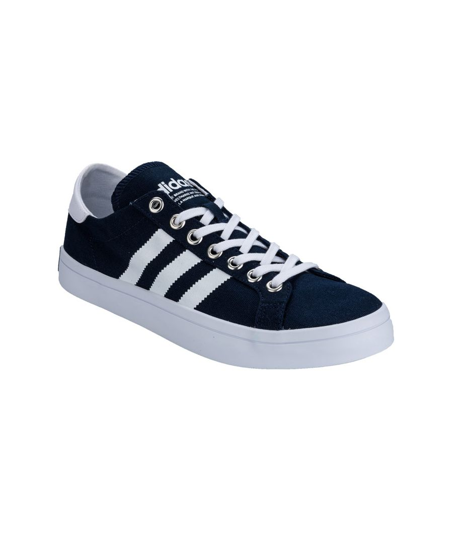 Image for Men's adidas Originals Courtvantage Trainers in Navy