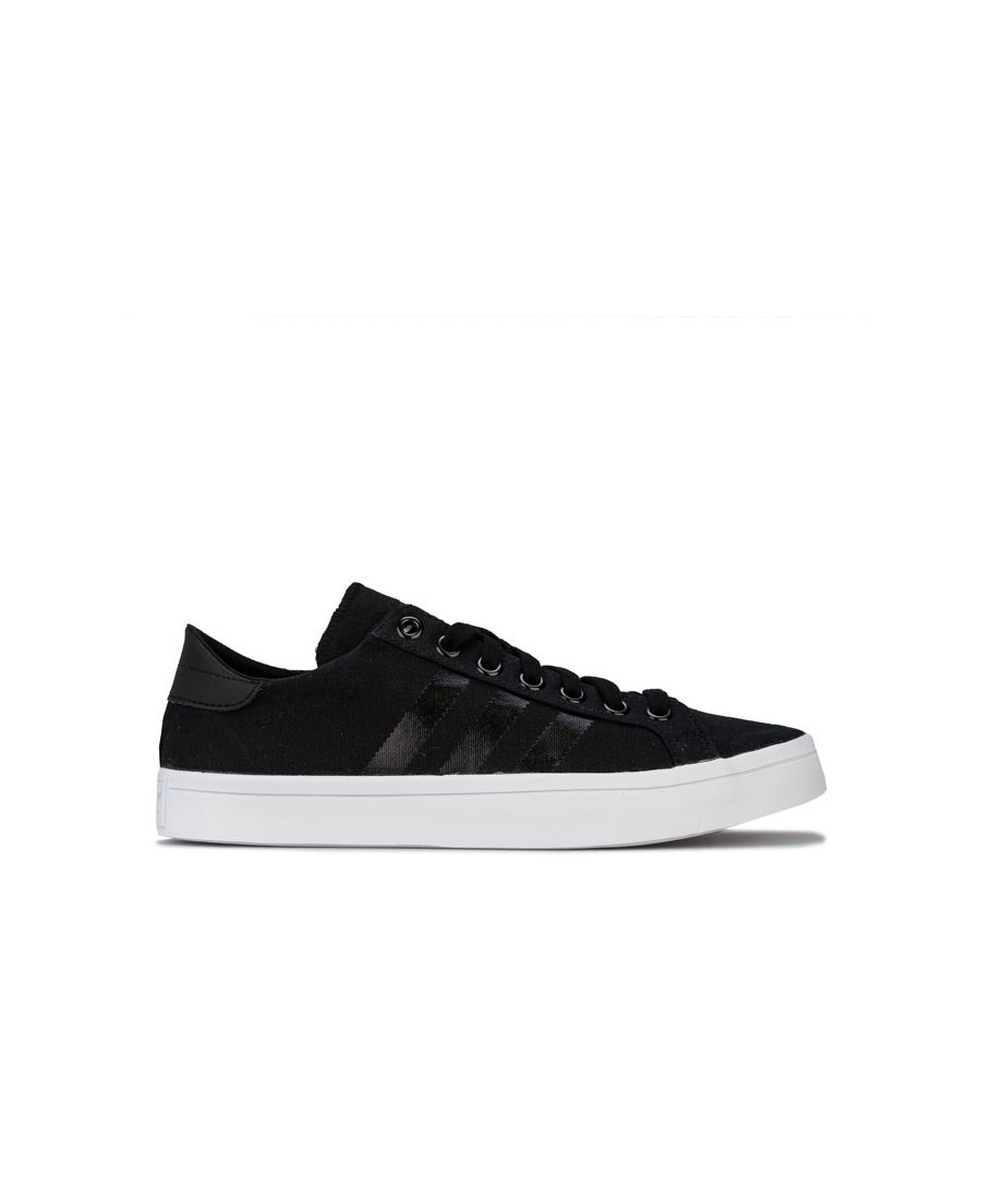 Image for Men's adidas Originals CourtVantage Trainers in Black