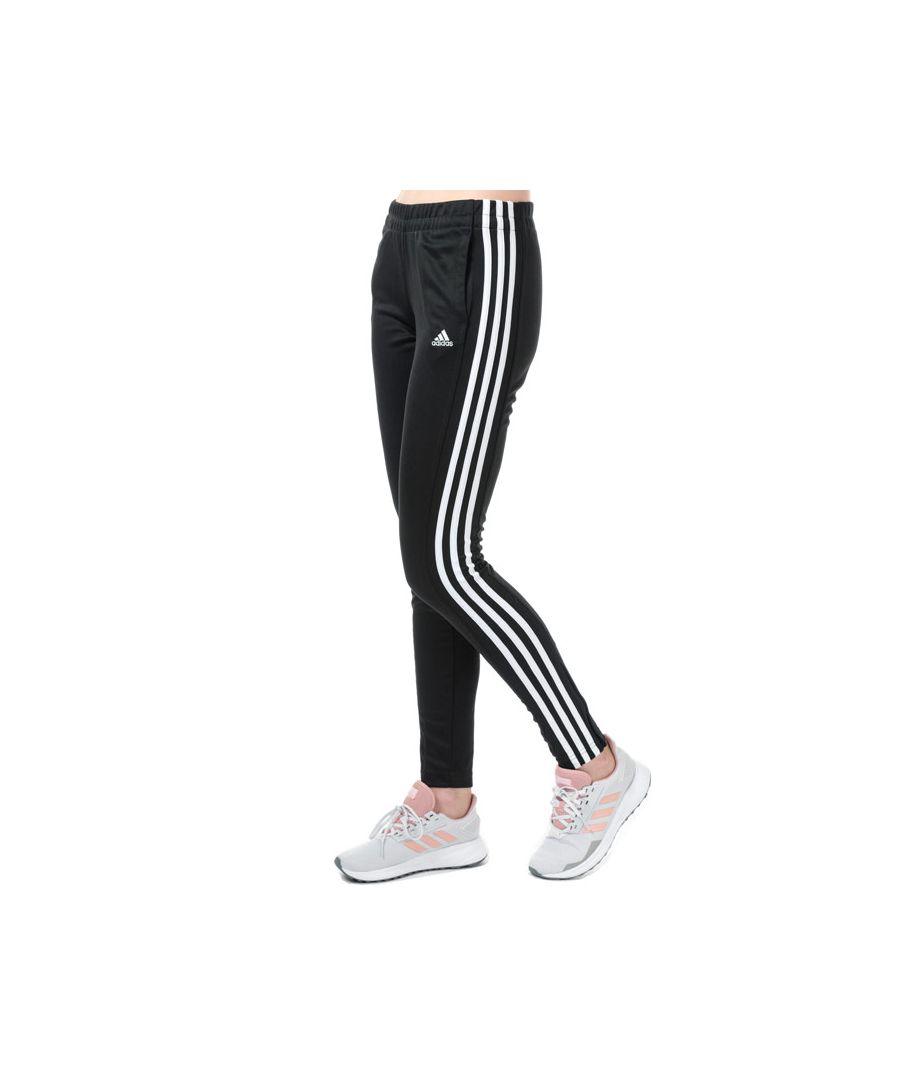 Image for Women's adidas T10 Tracksuit Pants in Black-White