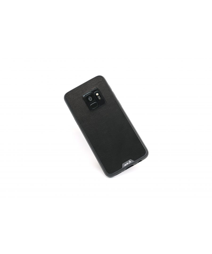 Image for Mous - Protective Case for Samsung Galaxy S9 - Limitless 2.0 - Black Leather - Screen Protector Included