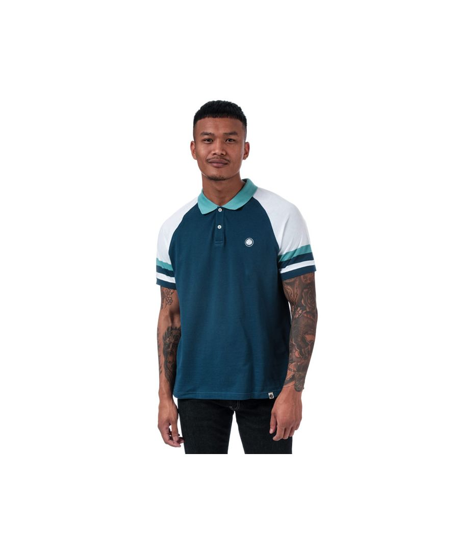 Image for Men's Pretty Green Narco Polo Shirt in Navy