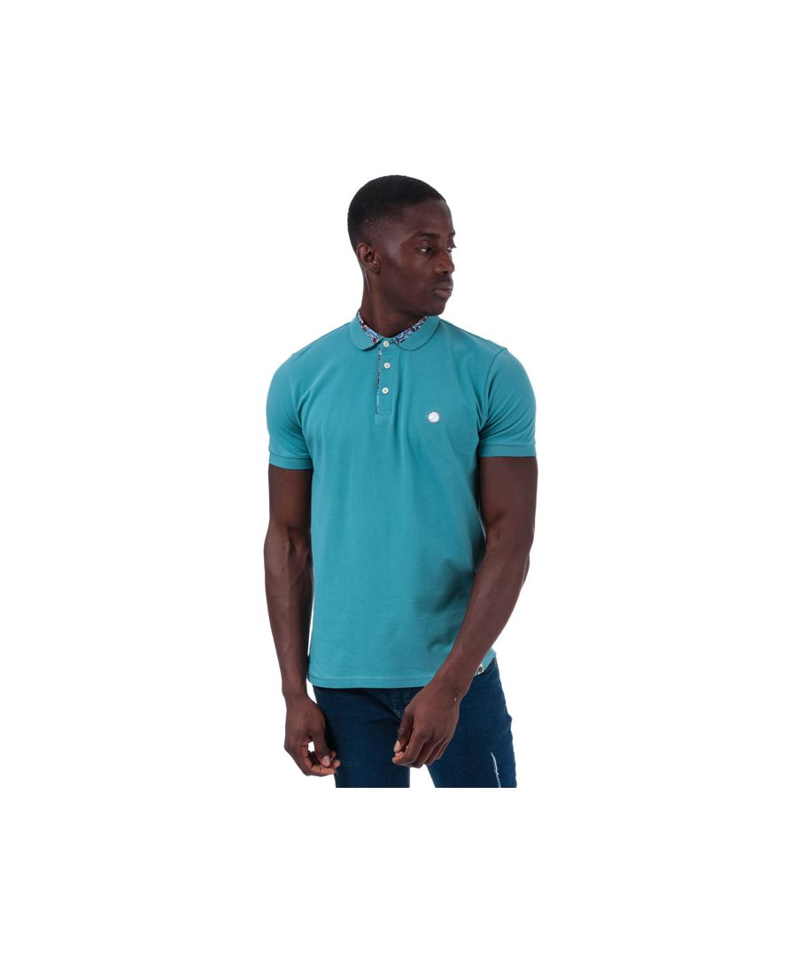 Image for Men's Pretty Green Nightshade Carver Polo in Blue