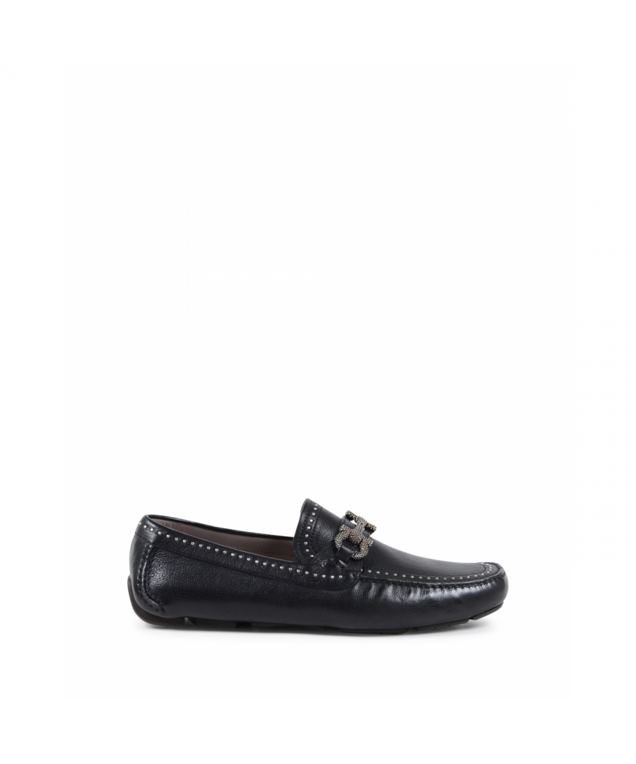 Image for Salvatore Ferragamo Mens Loafer Black PARIGI STU