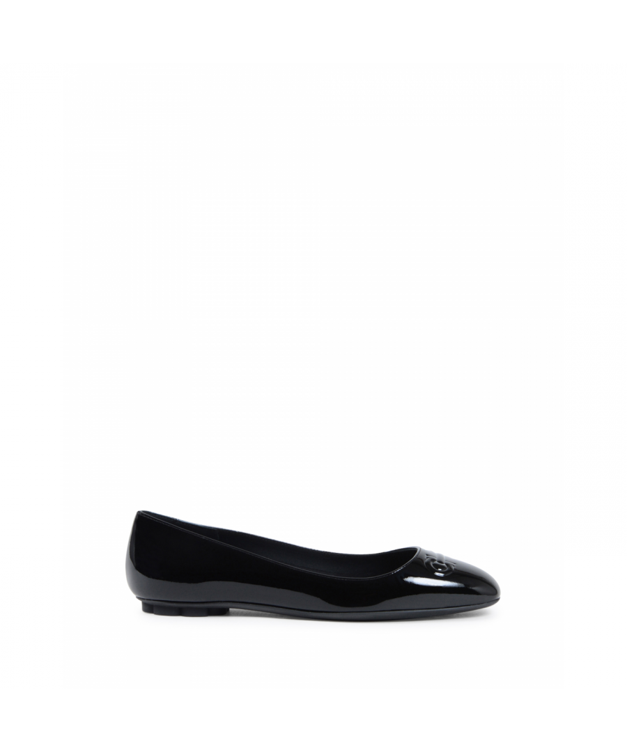 Image for Salvatore Ferragamo Womens Ballerina Black BRONI