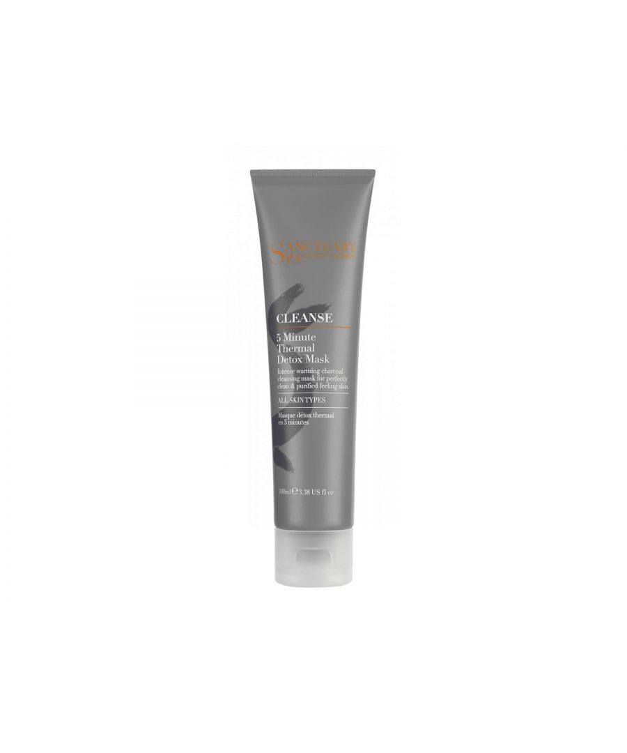 Image for Sanctuary Spa Cleanse 5 Minute Thermal Detox Mask 100ml
