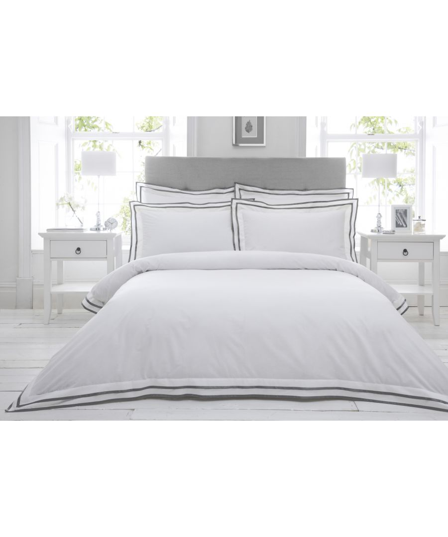 Image for Sandringham SKing Duvet Set Pewter