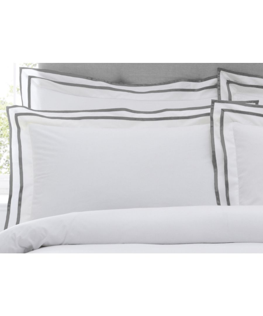 Image for Sandringham Oxf Pillowcase Pewter