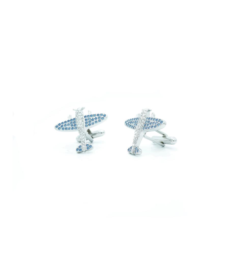 Image for Sapphire Swarovski Crystal Spitfire