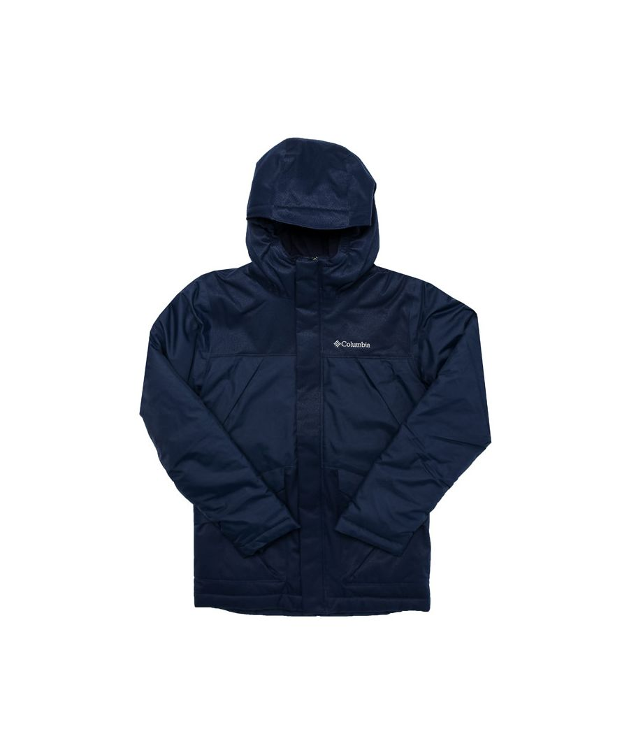 Image for Boy's Columbia Junior Swiss Mister Jacket in Navy