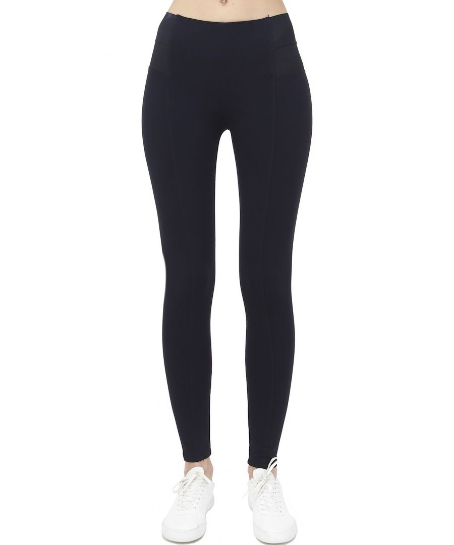 Image for Assuili Elastic Side Panel Leggings in Navy